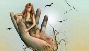 femeie-palma