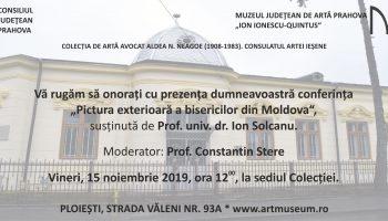 Invitatie conferinta Ion Solcanu