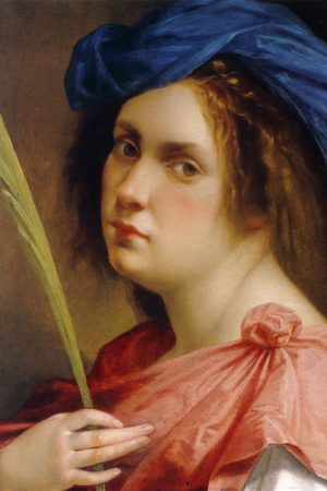 Artemisia_Gentileschi_Selfportrait_Martyr